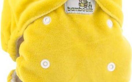 Bamboolik Noční kalhotková plena žlutá