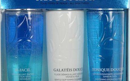 Lancome Trio Douceur Kit dárková sada W - 125ml Bi-Facil Demaquilant Yeux + 125ml Galateis Douceur + 125 ml Tonique Douceur Všechny typy pleti