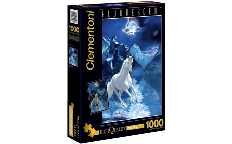Clementoni Puzzle Bílý hřebec 1000 dílků