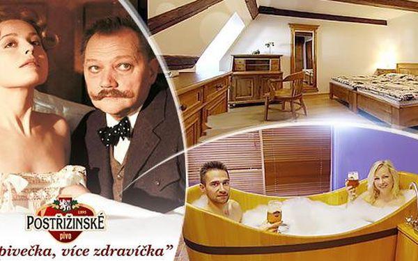Lázeňské Poděbrady, pobyt ve stylu Postřižin na 2-5 dní pro dva se snídaněmi a wellness