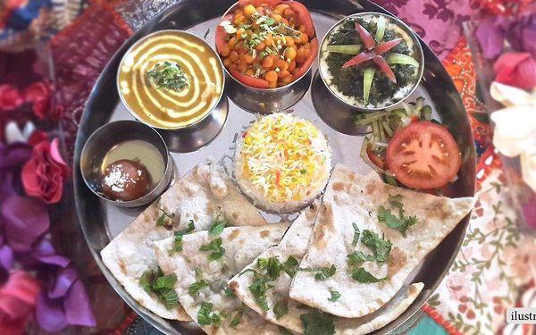 30% sleva na bohatou indickou hostinu