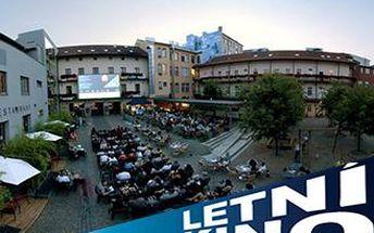 DVĚ vstupenky na filmové představení dle vlastního výběru do Letního kina na dvoře MdB.