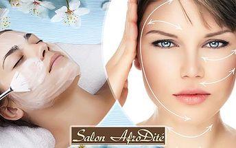 Liftingová kolagenová kúra v délce 60 minut. Ošetření 100% přírodní kosmetikou anti-aging.