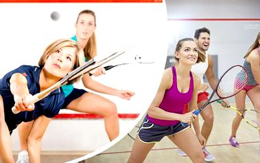 5x 30 minut squash nebo ricochet ve sportovní hale v centru Brna.