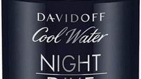 Davidoff Cool Water Night Dive - tuhý deodorant 75 ml