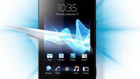 Screenshield fólie na celé tělo pro Sony Xperia P - SON-XPP-B