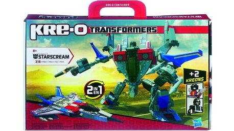 KRE-O Transformers stavebnice Starscream