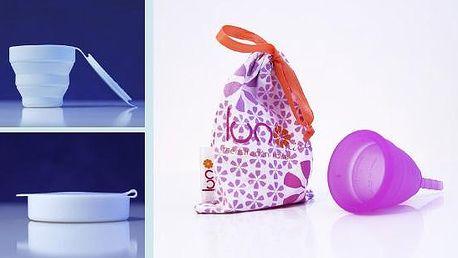 2x LUNO violet + sterilizační kelímek