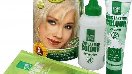 HennaPlus Dlouhotrvající barva na vlasy 100 ml (Long Lasting Colour) 10 Extra světlá blond
