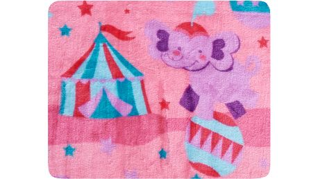 Dětská deka TRICKY růžová 75x100 cm Essex Záznam byl v pořádku uložen.