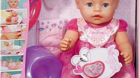 Zapf Creation Interaktivní BABY born Princezna 43cm