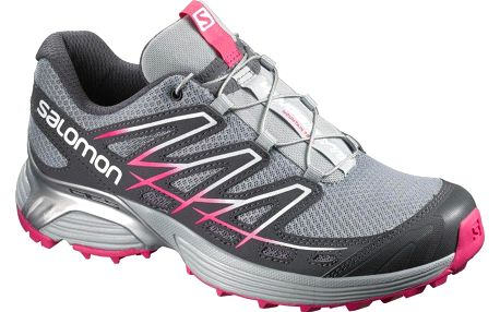 Salomon Wings Flyte W Light Onix/Dark Cloud/Hot Pink 39,3