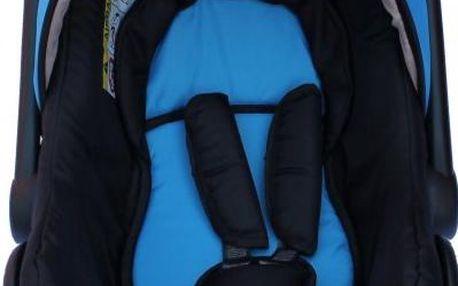 Sun Baby Autosedačka 0-13 kg ke kočárku Ibiza, modrá