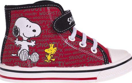 Disney Brand Kotníkové tenisky Snoopy