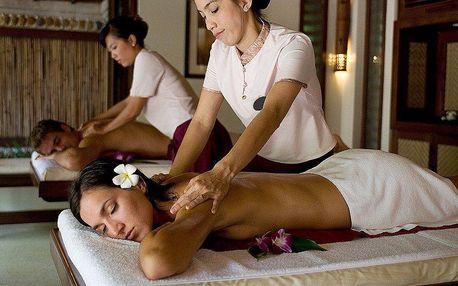Párová masáž s aromatickou lázní