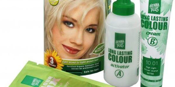 HennaPlus Dlouhotrvající barva na vlasy 100 ml (Long Lasting Colour) 3 Tmavě hnědá