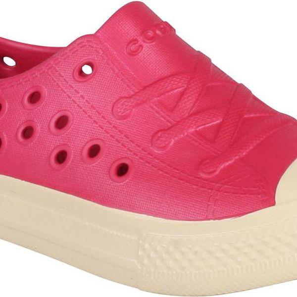Coqui Dívčí gumové tenisky Rento - červené