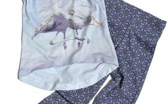 Gelati Dívčí set Animals - bílo-modrý