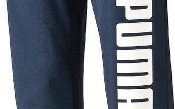 Puma Chlapecké tepláky Style Athletic - tmavě modré