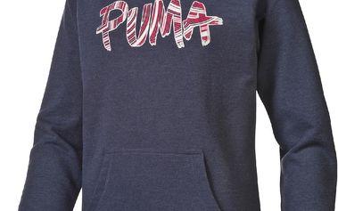 Puma Dětská mikina Fun TD - tmavě modrá