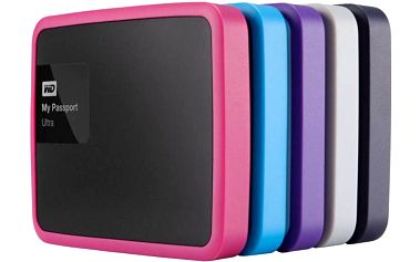 Pouzdro na HDD Western Digital Grip pack pro MyPassport Ultra 1TB (WDBZBY0000NBA-EASN) černá