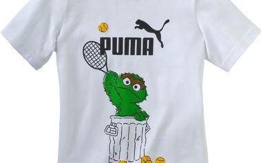 Puma Dětské tričko Fun Licensing - bílé
