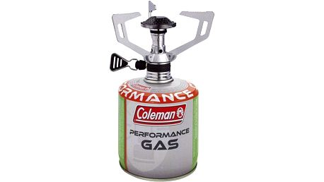 Set Coleman Vařič F1 Spirit + Kartuše C 300 Performance stříbrný/bílý/zelený