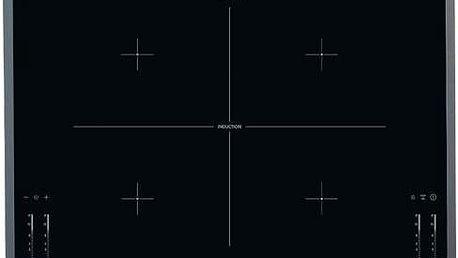 Indukční varná deska AEG HK764400FB černá/sklo