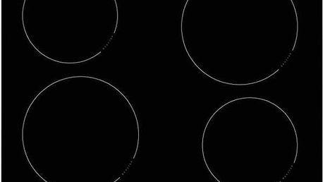 Indukční varná deska Amica PI 6540 TU černá