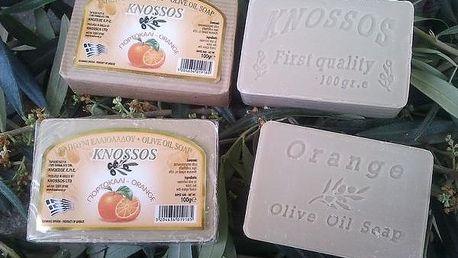 Přírodní olivové mýdlo Knossos