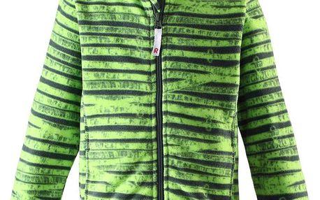 Reima Dětská fleecová bunda Rye cucumber green
