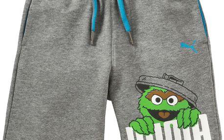 Puma Dětské šortky Fun Licensing - šedé