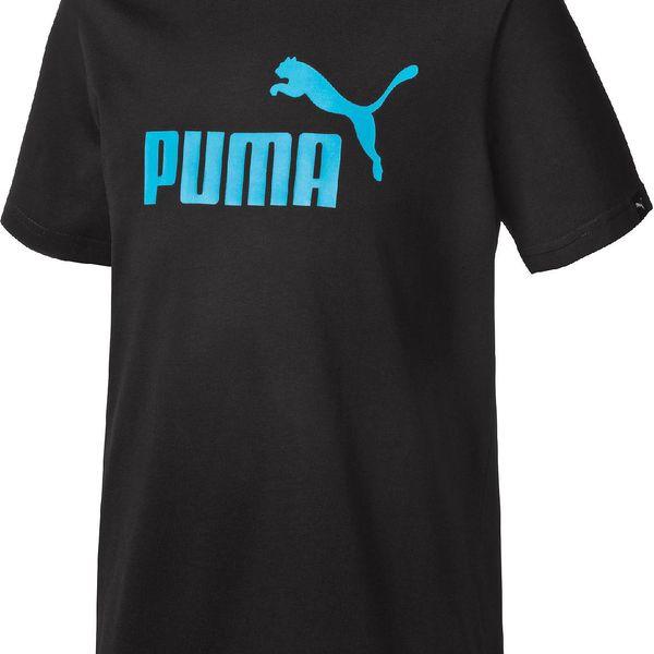Puma Chlapecké tričko ESS Large Logo - černé