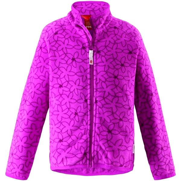 Reima Dívčí fleecová bunda Rosemary fuchsia fun