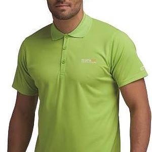 Pánské funkční POLO tričko Regatta RMT099 MAVERIK II Extreme Green