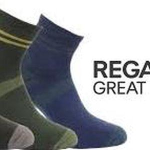 Pánské funkční ponožky Regatta RMH036 ACTIVE LStyle 3 páry