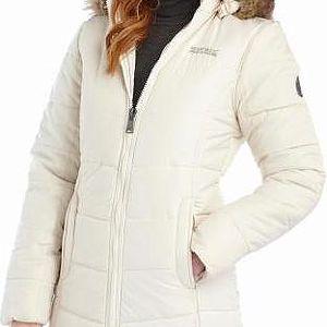 Dámský stylový kabát Regatta RWN062 FEARNE Polar Bear