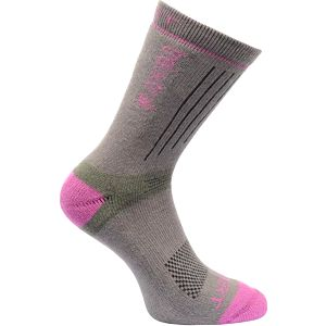 Dámské funkční ponožky Regatta RWH021 Xert HW TrekTrail hnědé