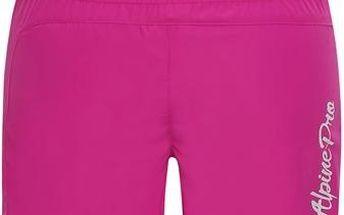 ALPINE PRO Dívčí šortky CLEOFO 2 - růžové