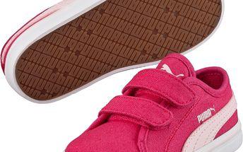 Puma Dívčí tenisky Elsu v2 CV - růžové