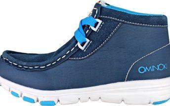 Ominoki Chlapecké kotníkové boty - modré