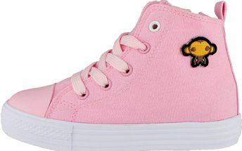 Ominoki Dívčí kotníkové tenisky - růžové