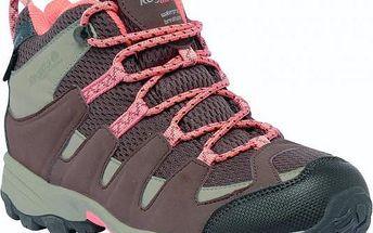 Dětské vysoké boty Regatta RKF340 GARSDALE MID Jnr Cocont/PeacM