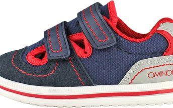 Ominoki Chlapecké tenisky - modro-červené
