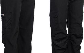 Dětské softshellové kalhoty Regatta RKJ018 WINTER SSHELL Trs Black