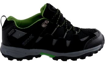 Dětské boty Regatta RKF330 GARSDALE LOW Jnr Black/Extgrn