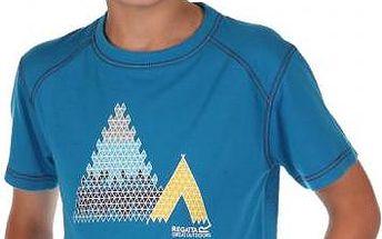 Dětské juniorské triko Regatta RKT062 MOTION Methyl Blue