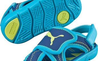 Puma Chlapecké sandály Summer Sandal - modré