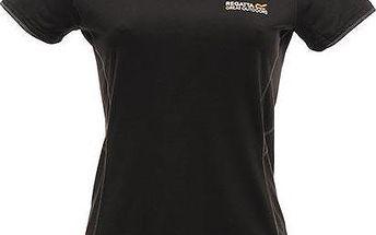 Dámské tričko Regatta RWT085 JAMIE Black
