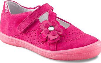 Richter Dívčí balerínky s kytičkou - růžové, EUR 33